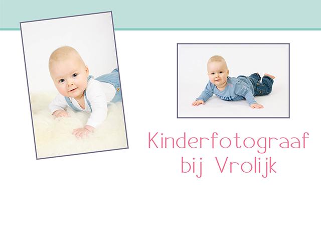 Kinderfotograaf bij Vrolijk