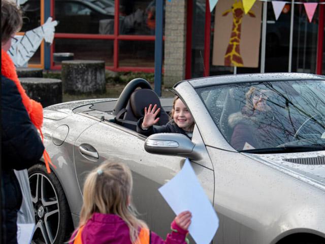 Drive-by bij Kinderopvang Vrolijk